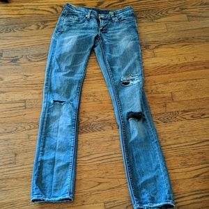 Blank NYC Skinny Jeans with Patches Size 27